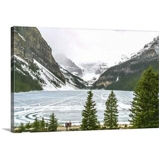 """Lake Louise, Banff, Alberta, Canada"" Canvas Wall Art"