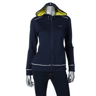 L-RL Lauren Active Womens Hooded French Terry Hoodie - S