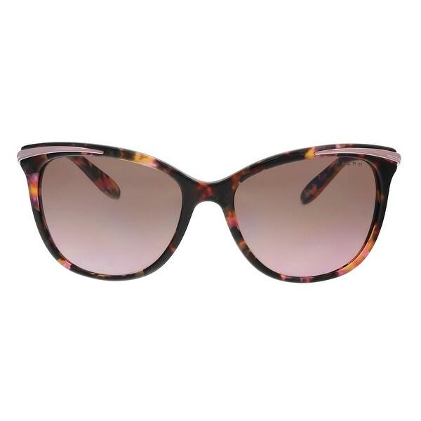 25acbb0470 Shop Ralph Lauren RA5203 146114 Pink Marble Cat eye Sunglasses - 54 ...