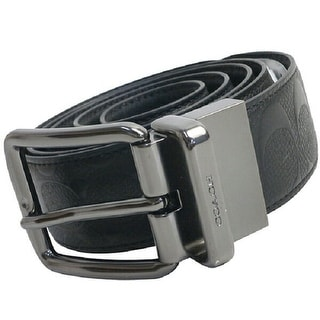 Coach Wide Harness Cut to Size Signature Leather Reversible Belt, F55157 - Cut to Size