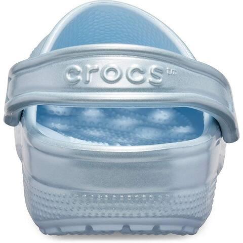 Crocs Men's and Women's Classic Metallic Clog - 9