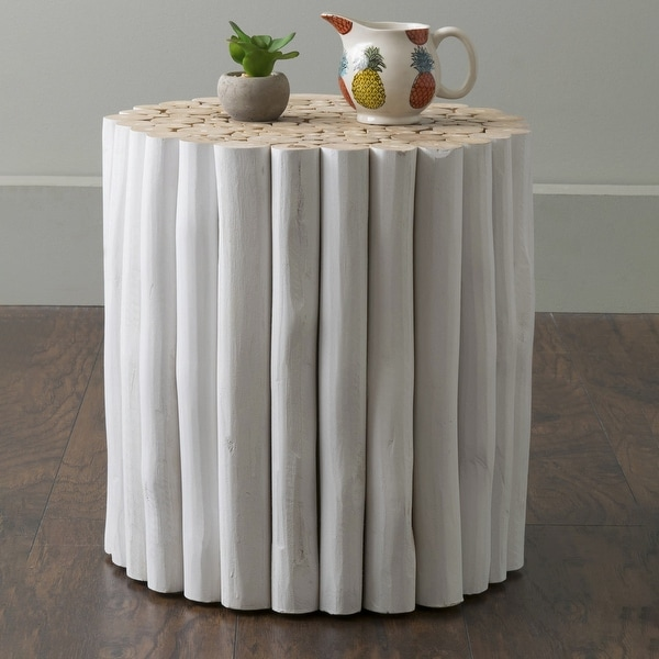 East at Main Adira Teak Wood Accent Table. Opens flyout.