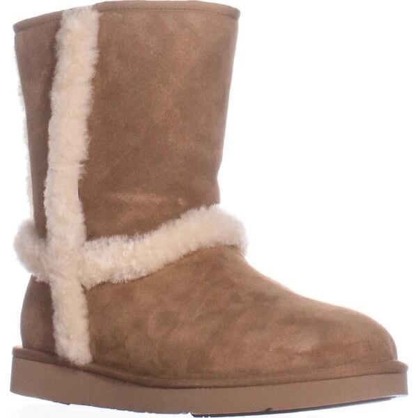 UGG Australia Carter Mid-Calf Winter Boots, Chestnut - 11 us / 42 eu