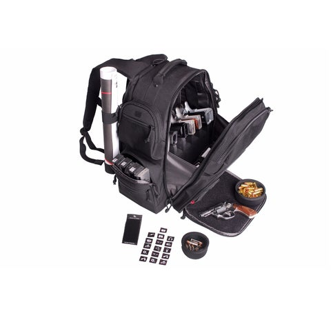 G.P.S. The Executive Backpack-Black GPS-1812BPB