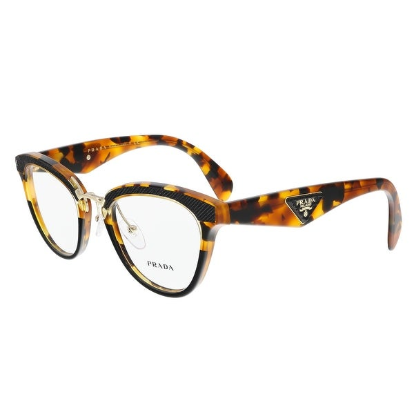 1f64f37d33c Shop Prada PR 26SV VHA1O1 Medium Havana Cateye Optical Frames - 51 ...