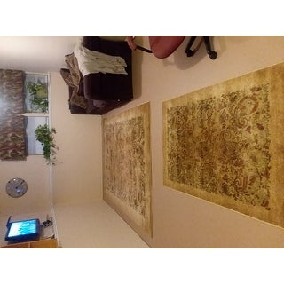 Safavieh Lyndhurst Traditional Paisley Beige/ Multi Rug (4' x 6')