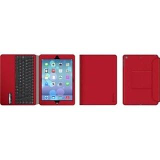 Griffin Red Slim Bluetooth Keyboard Folio Case For Ipad Air And Ipad Air 2 - Bluetooth Keyboard And Protective Folio In