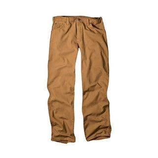 Dickies 1939RBD 3630 Relaxed Fit Carpenter Duck Jean, 36W x 30L