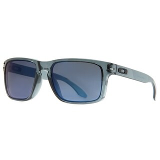 Oakley Holbrook OO9102-47 55mm Crystal Black/Ice Iridium Men's Sunglasses - Crystal Black - 55mm-18mm-137mm