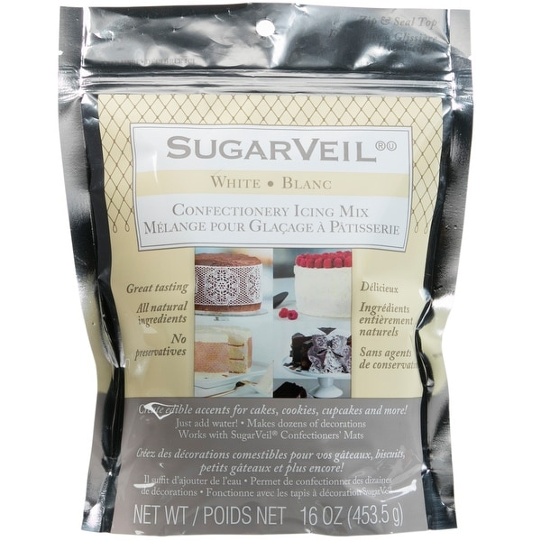 Sugarveil Confectionery Icing Mix 16Oz-White
