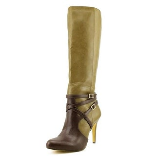 INC International Concepts Taigi Women Synthetic Green Knee High Boot