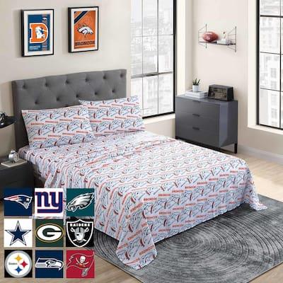 NFL Official Licensed 2021 Season Bed Sheet Set