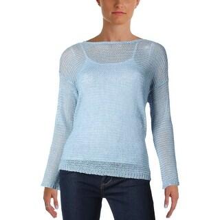 Denim & Supply Ralph Lauren Womens Sweater Linen Long Sleeves - s
