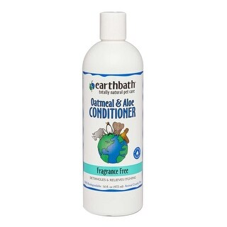 Earthbath Oatmeal & Aloe Conditioner Fragrance Free 16Oz