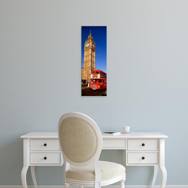 Easy Art Prints Panoramic Images's 'Big Ben, London, United Kingdom' Premium Canvas Art