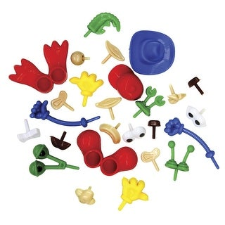 Creativity Street Body Part Accessories Set for Dough and Clay