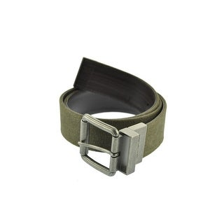Calvin Klein Mens Leather Canvas Casual Belt - 38