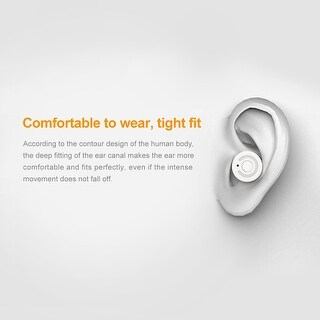 Link to Mini TWS Wireless Earphones Twins Stereo In-Ear Earbuds Bluetooth Headsets Silver Similar Items in Cell Phone Accessories