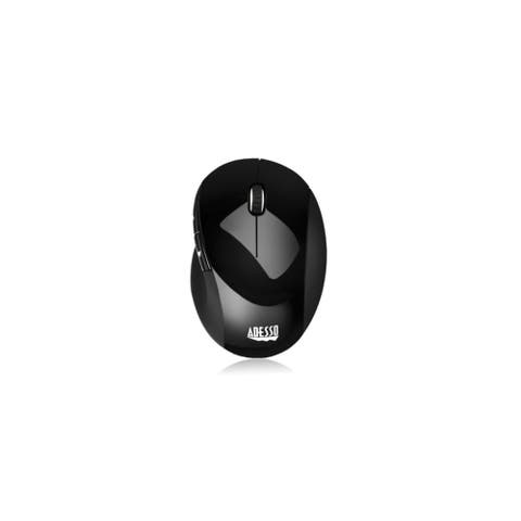 Adesso Adesso 2.4ghz Rf Wireless Vertical Ergonomic Optical Mouse With Back And Forth Adesso Adesso 2.4ghz Rf Wireless Vertical
