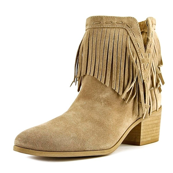 VC Signature Stella Women Round Toe Suede Ankle Boot