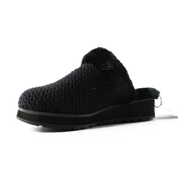 Shop Skechers Womens 31233 Black/Black