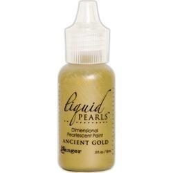Ancient Gold - Liquid Pearls Dimensional Pearlescent Paint .5Oz