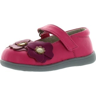 See Kai Run Girls Bailey Mary Jane Shoes - HOT PINK