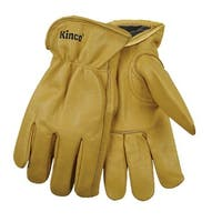 Kinco 98RL-M Lined Grain Cowhide Leather Gloves, Medium
