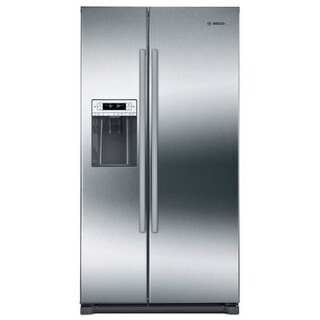 Bosch B20CS30SN 36 Inch Wide 20.2 Cu. Ft. Energy Star Rated French Door Refriger