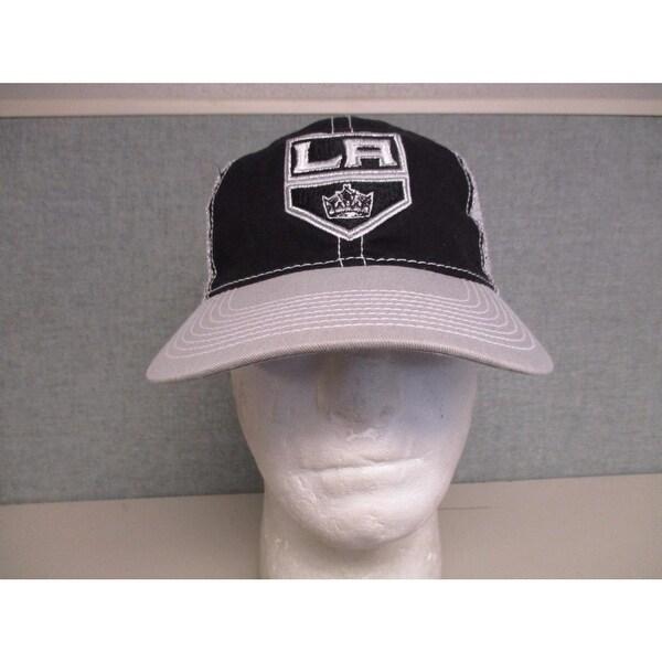 promo code f99b1 5ab21 Los Angeles La Kings Mens Adult Osfa Reebok Trucker Snapback Hat  20