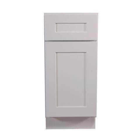 "Design House 613133 Brookings 34.5"" x 15"" Single Door Base Cabinet"