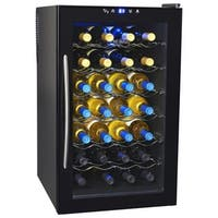 NewAir AW-280E Classic 28 Bottle Thermoelectric Wine Cooler, Black