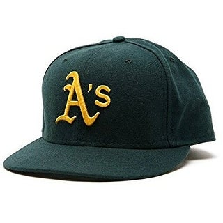 Oakland Athletics Road 2007 New Era Official On-Field Fitted Cap
