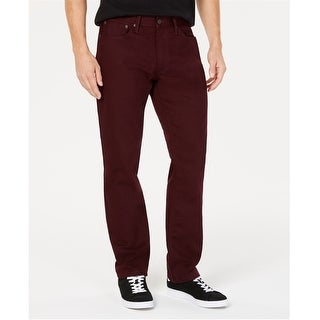 Link to Levi's Mens 541 Solid Athletic Fit Jeans, red, 34W x 30L - 34W x 30L Similar Items in Pants