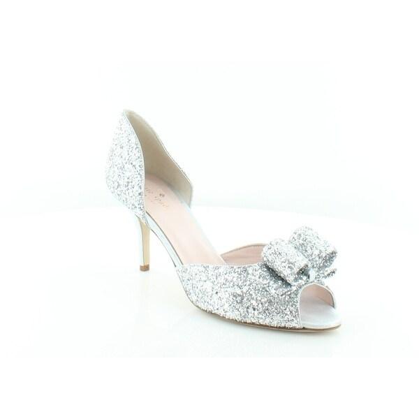 36497110e99 Shop Kate Spade Sela Women s Heels Silver Glitter - 9.5 - Free ...