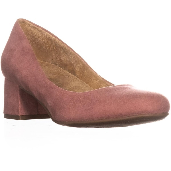 naturalizer Donelle Kitten Heel Classic Pumps, Pink - 9 us / 39 eu