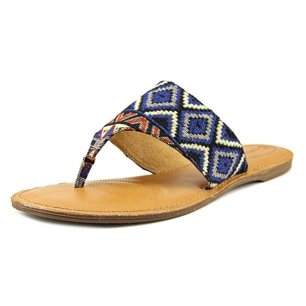 Corso Como Joan Women Open Toe Canvas Thong Sandal