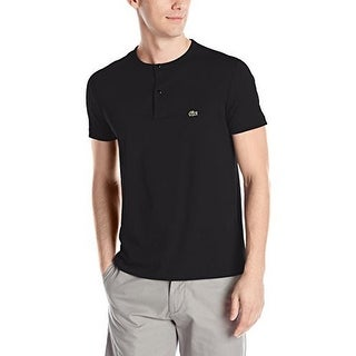 Lacoste Mens Short Sleeve Henley