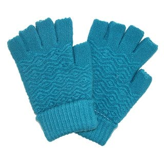 CTM® Women's Chenille Fingerless Winter Gloves|https://ak1.ostkcdn.com/images/products/is/images/direct/73b848ec2bab61e0756e190d4ad5c9eee0e3f997/CTM%C2%AE-Women%27s-Chenille-Fingerless-Winter-Gloves.jpg?impolicy=medium