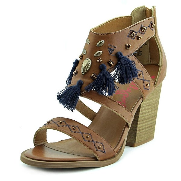 Jellypop Essaouira Women Tan Smooth Sandals