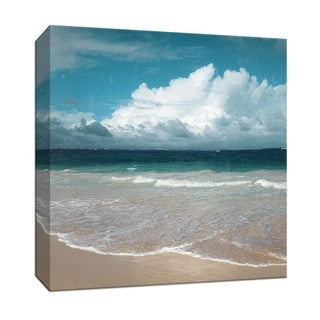"PTM Images 9-147913  PTM Canvas Collection 12"" x 12"" - ""Beach Waves"" Giclee Beaches Art Print on Canvas"