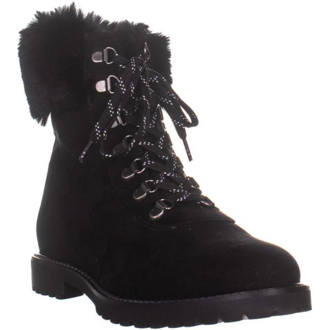 Kenneth Cole REACTION Trail Boot Ankle Boots, Black - 10 US / 41 EU