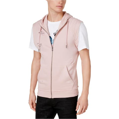 I-N-C Mens Deconstructed Sweater Vest