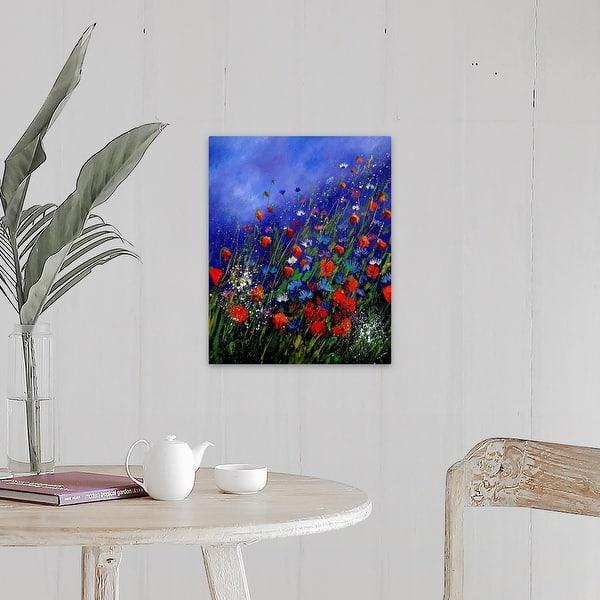 Wild Flowers 78 Canvas Wall Art Overstock 30179935