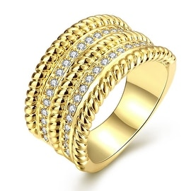 Gold Trio- Layered Ring