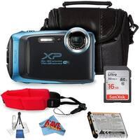 FujifilmFinePix XP130 Digital Camera + SanDisk 16GB Ultra UHS-I SDHC Class 10 + Deluxe Starter Kit Bundle(International Model)