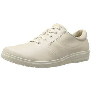 Grasshoppers Womens Stretch Plus Lace Round Toe Low Top Sneakers - 6 medium (b,m)
