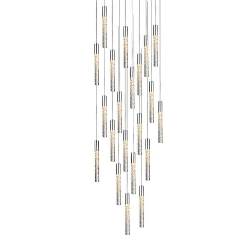 Modern Forms PD-35621 Magic 21 Light LED Title 24 Compliant Chandelier - 11.5 Inches Tall - Grey