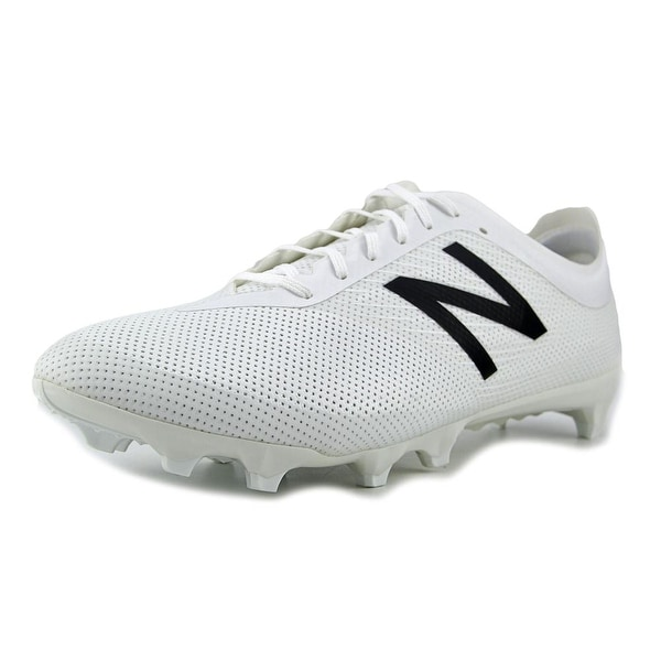 New Balance MSFUR Men 2E Round Toe Synthetic White Cleats
