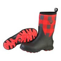 Muck Boots Red Men's Arctic Excursion Mid Boot w/ Fleece Lining - Size 13